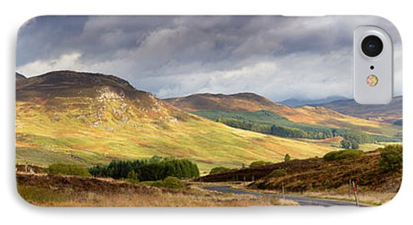 Storm Clouds Over The Glen Phone Case by Jane Rix