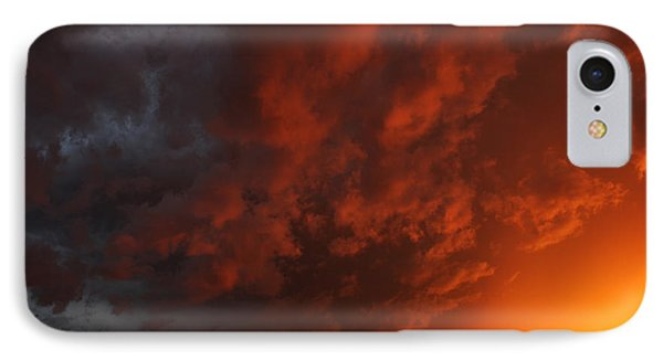 IPhone Case featuring the photograph Storm Clouds Over Yorkton II by Ryan Crouse