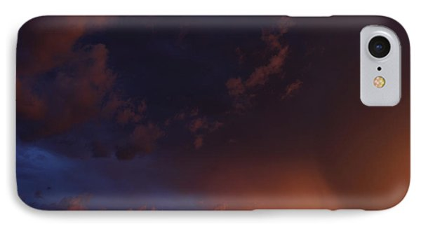 Storm Clouds Over Yorkton IIi IPhone Case by Ryan Crouse