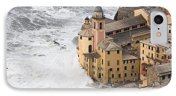 IPhone Case featuring the photograph Storm In Camogli by Antonio Scarpi