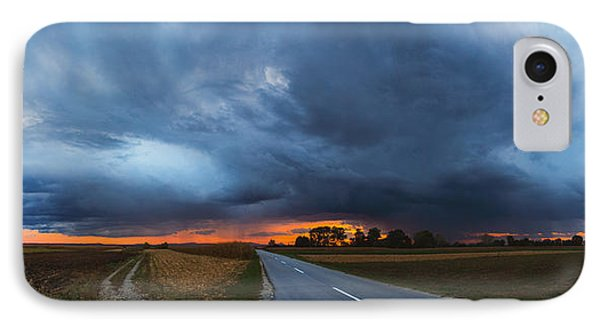 Storm Is Coming Phone Case by Davorin Mance