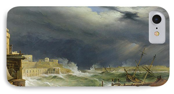 Storm Malta IPhone Case by John or Giovanni Schranz