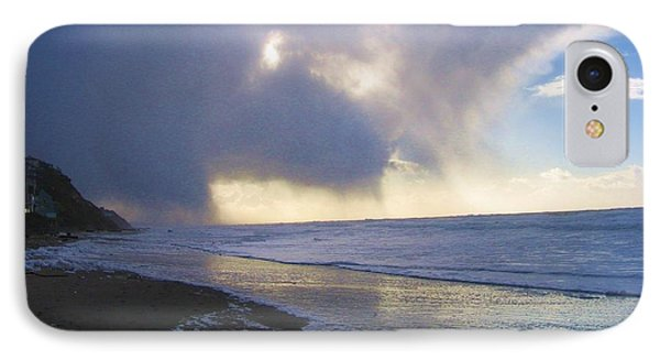 Storm On Beach IPhone Case