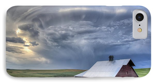 Storm On Jenkins Rd IPhone Case
