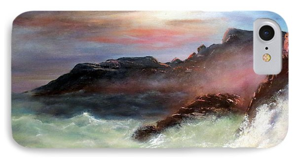 Storm On Mount Desert Island Phone Case by Lee Piper