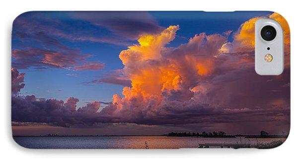 Storm On Tampa IPhone Case