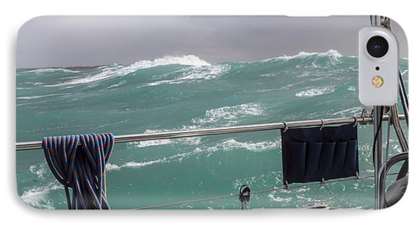 Storm On Tasman Sea IPhone Case by Jola Martysz