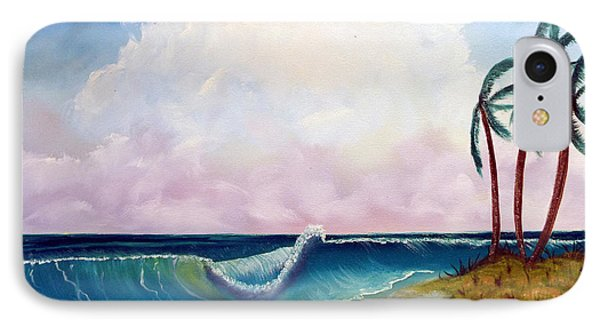 Storm On The Horizon Phone Case by Joyce Krenson