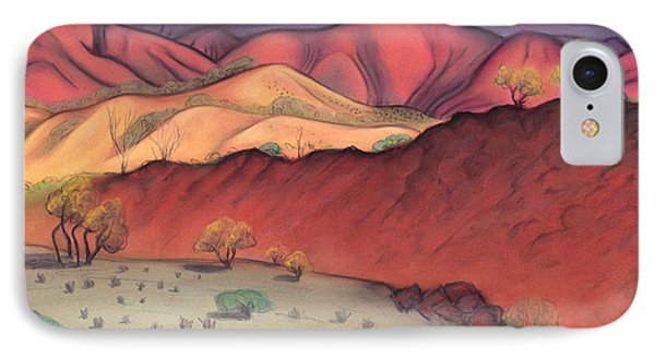 Storm Outback Australia Phone Case by Judith Chantler