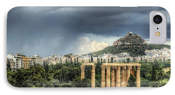 IPhone Case featuring the photograph Storm Over Athens by Micah Goff