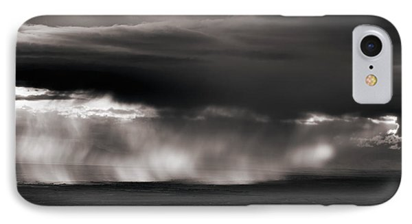 Storm Over Bighorn Basin IPhone Case by Leland D Howard