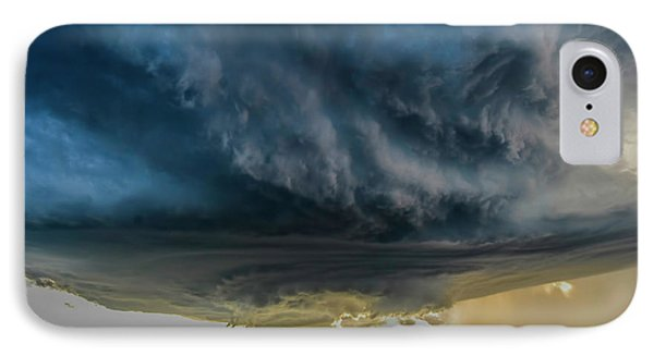 Storm Over Greenfield IPhone Case