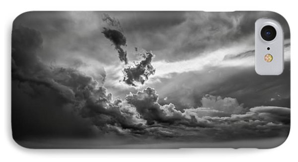 Storm Brewing IPhone Case by Maria Robinson