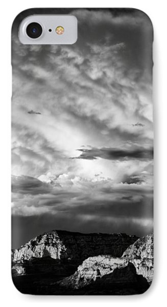 Storm Over Sedona Phone Case by Dave Bowman