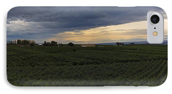 Storm Over The Yakima Valley IPhone Case by Mike  Dawson