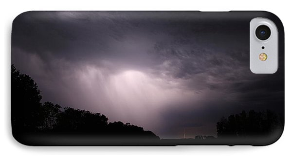IPhone Case featuring the photograph Storm Over Wroxton by Ryan Crouse