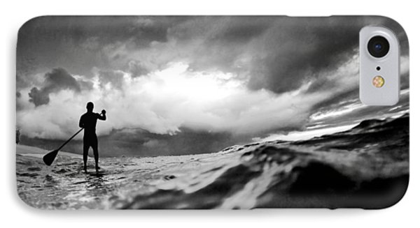 Storm Paddler IPhone Case by Sean Davey