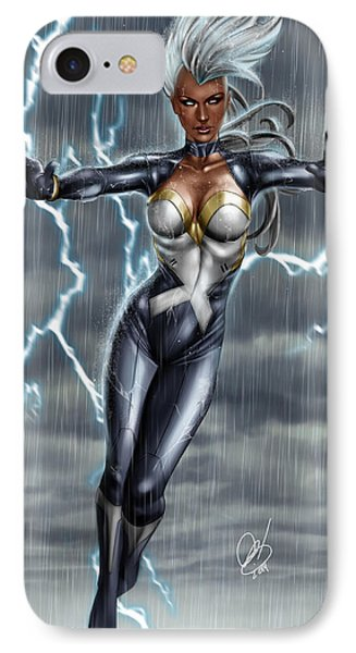 Storm IPhone Case by Pete Tapang