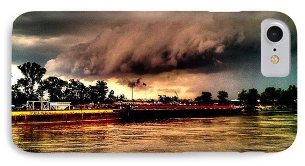 Storm Rolling In Phone Case by Cory Shoemaker