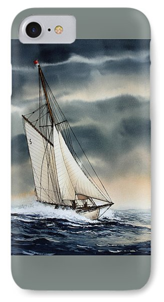 Storm Sailing Phone Case by James Williamson