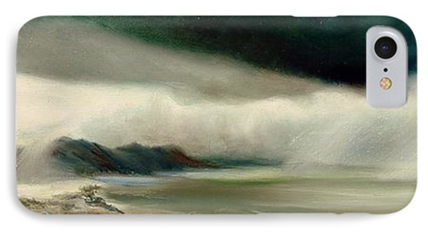 IPhone Case featuring the painting Storm by Sorin Apostolescu