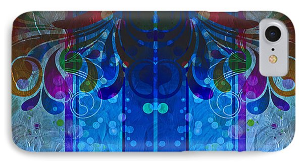 Storm Through The Window - Abstract  IPhone Case