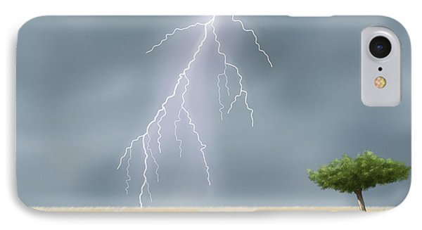 Storm Phone Case by Veronica Minozzi