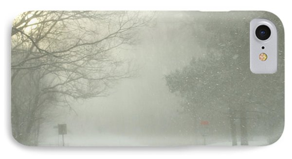 IPhone Case featuring the photograph Storm Warning  by Deborah DeLaBarre