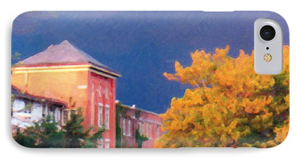 IPhone Case featuring the photograph Storm Watch by The Art of Marsha Charlebois
