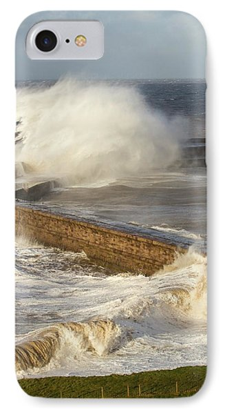 Storm Waves IPhone Case by Ashley Cooper