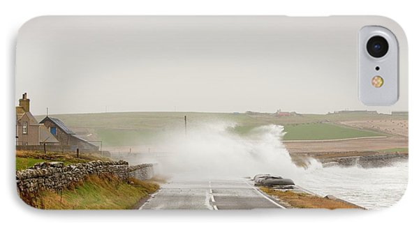 Storm Waves On IPhone Case by Ashley Cooper