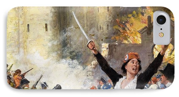 Storming The Bastille IPhone Case
