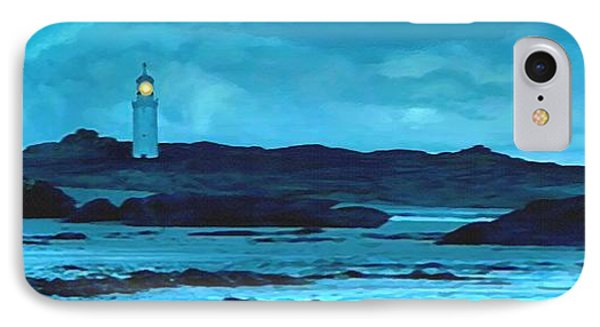 IPhone Case featuring the painting Storm's Brewing by Sophia Schmierer
