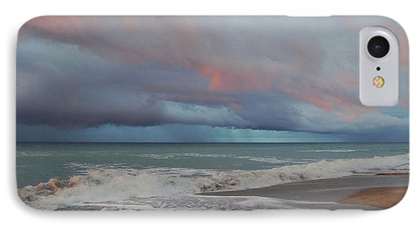 IPhone Case featuring the painting Storms Comin' by Mim White