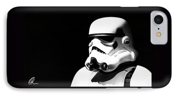 Stormtrooper Phone Case by Chris Thomas