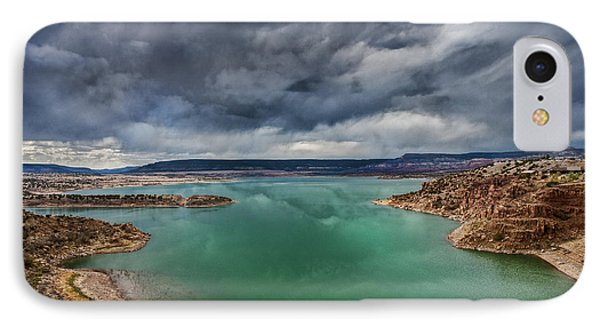 Stormy Abiquiu Lake IPhone Case