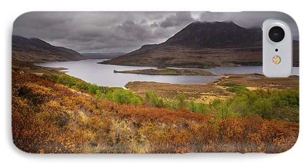 Stormy Afternoon In Scotland IPhone Case