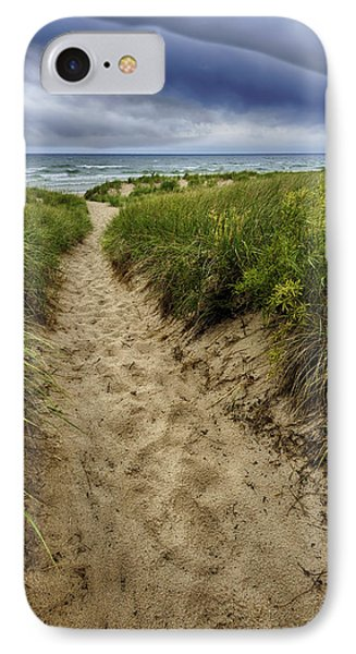 Stormy Beach IPhone Case