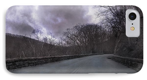 Stormy Blue Ridge Parkway IPhone Case by Betsy Knapp