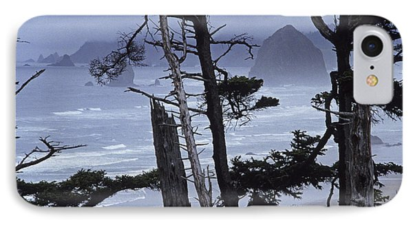 Stormy Cannon Beach IPhone Case