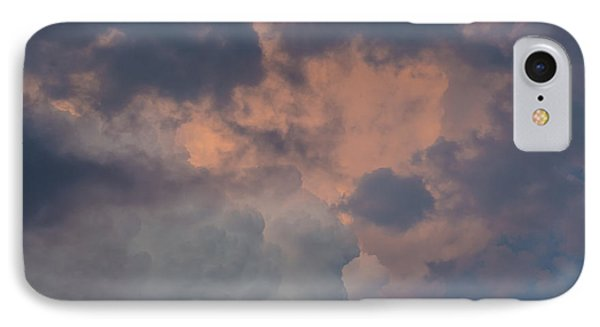 IPhone Case featuring the photograph Stormy Clouds Viii by Bradley Clay