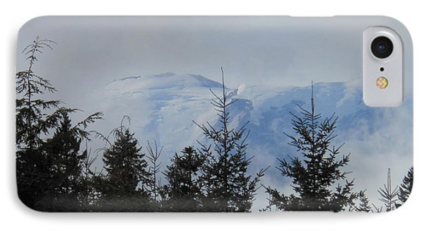 Stormy Day At Mt. Rainier Phone Case by Kay Gilley