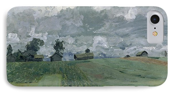 Stormy Day IPhone Case by Isaak Ilyich Levitan