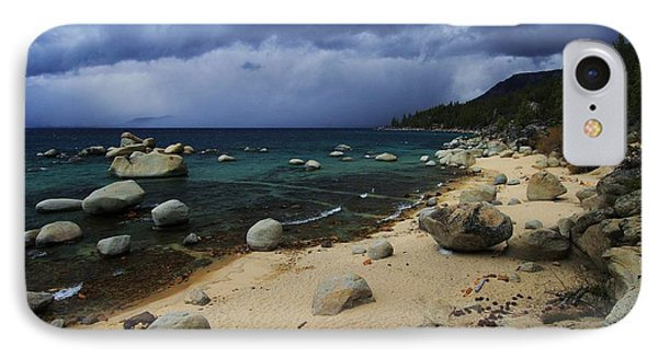 IPhone Case featuring the photograph Stormy Days  by Sean Sarsfield