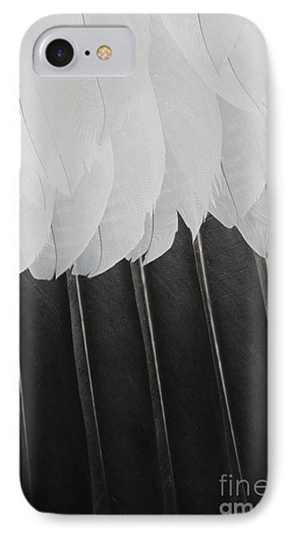 IPhone Case featuring the photograph Stormy Feathers by Judy Whitton