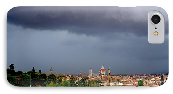 Stormy Florence IPhone Case by Kitrina Arbuckle