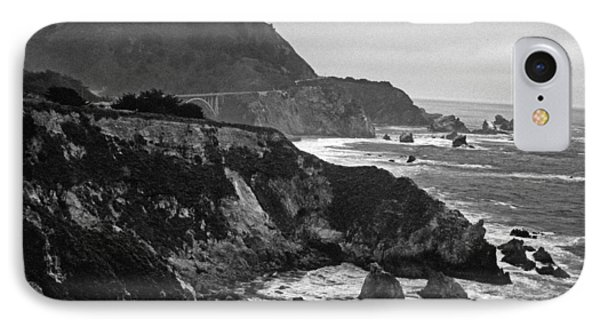 Stormy Hwy 1 Coast IPhone Case by Kathy Yates