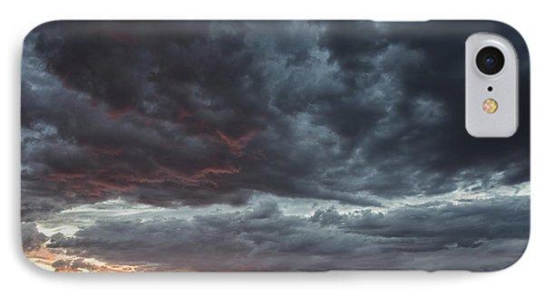 Stormy Jemez Mountains Sunset - Santa Fe New Mexico IPhone Case
