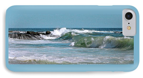 Stormy Lagune - Blue Seascape IPhone Case by Ben and Raisa Gertsberg