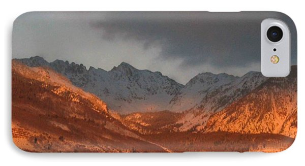 IPhone Case featuring the photograph Stormy Monday by Fiona Kennard